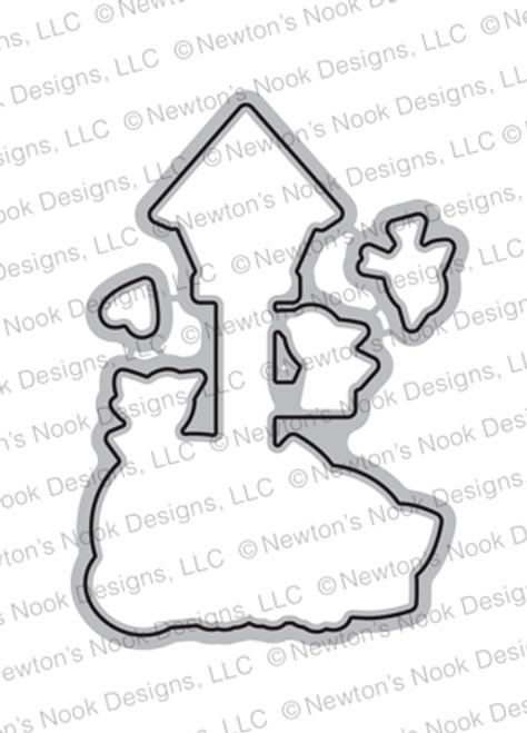 Newton's Birdhouse Die Set ©2019 Newton's Nook Designs