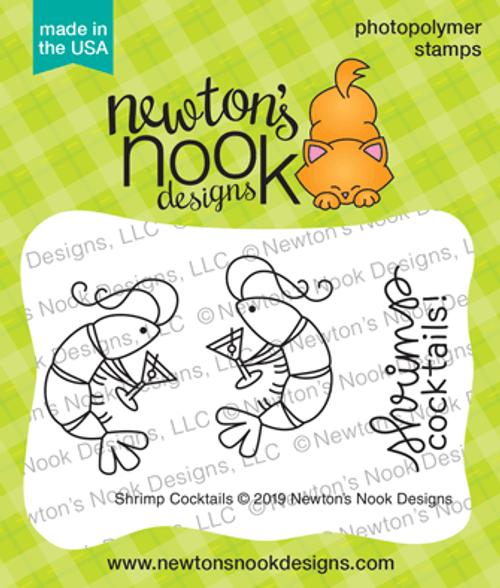 Shrimp Cocktails Stamp Set ©2019 Newton's Nook Designs