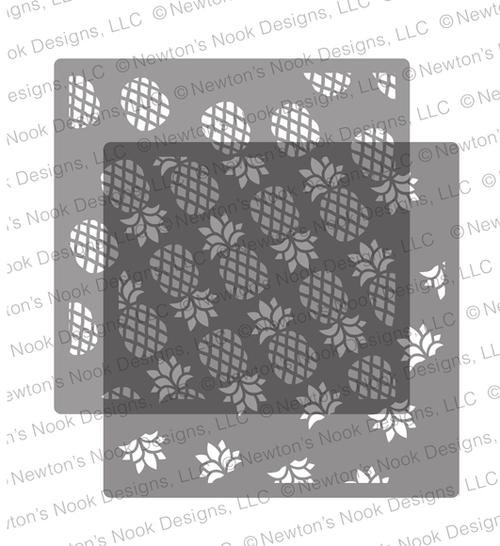 Pineapple Stencil Set ©2019 Newton's Nook Designs