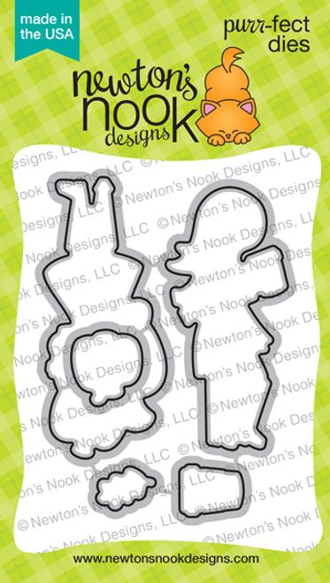 Pumpkin Latte Die Set ©2019 Newton's Nook Designs