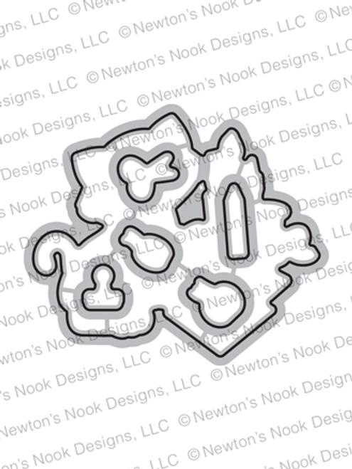 Newton's Crafty Cardio Die Set ©2020 Newton's Nook Designs