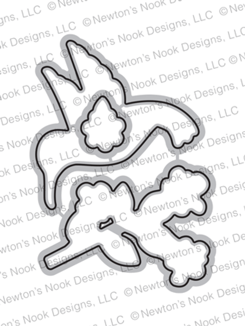 Hummingbird Die Set ©2020 Newton's Nook Designs