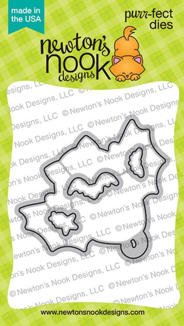 Batty Newton Die Set ©2020 Newton's Nook Designs