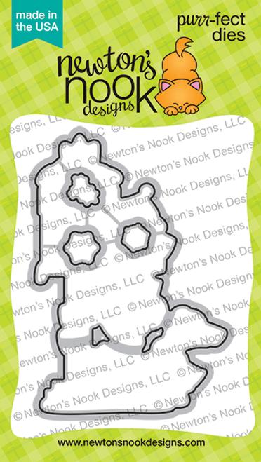 Holiday Post Die Set ©2020 Newton's Nook Designs