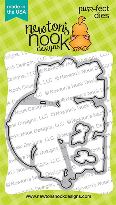 Newton's Rainy Day Trio Die Set ©2021 Newton's Nook Designs