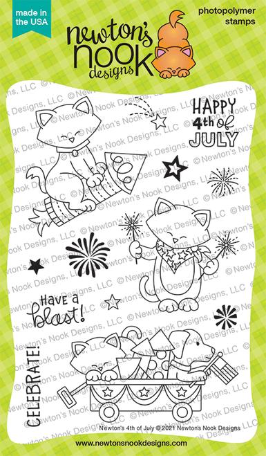 Newton's 4th of July Stamp Set ©2021 Newton's Nook Designs