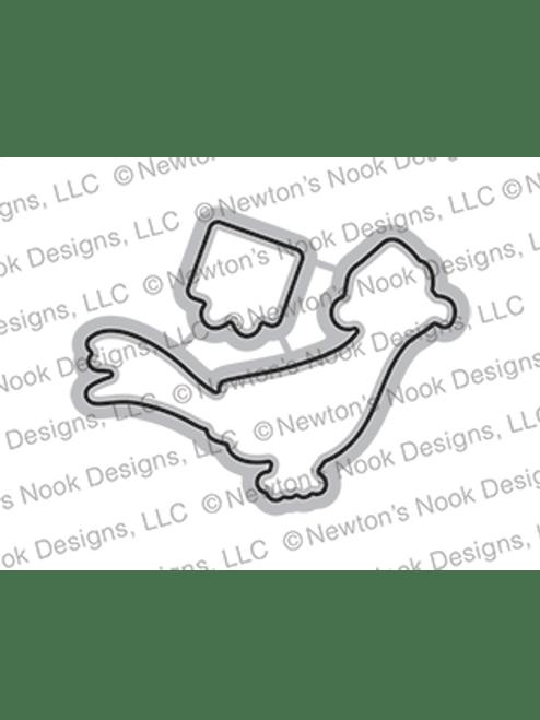 Christmas Pheasant Die Set ©2021 Newton's Nook Designs