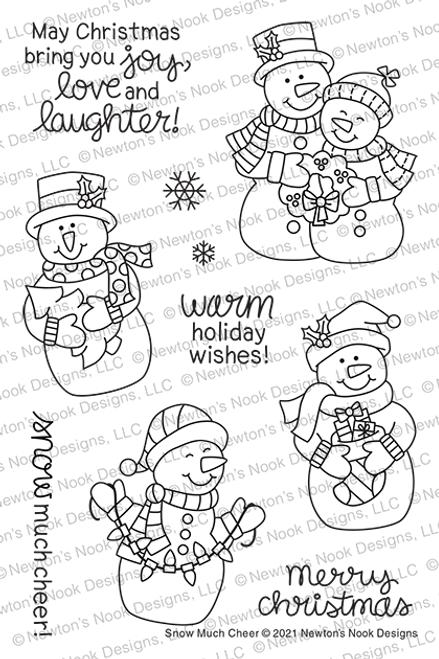 Snow Much Cheer Stamp Set ©2021 Newton's Nook Designs