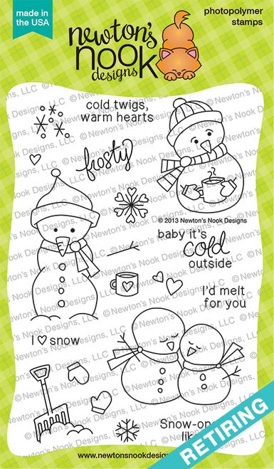 Frozen Friends Stamp Set ©2013 Newton's Nook Designs