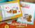 Apology Cat Card | Naughty Newton | 4x6 photopolymer Stamp Set | ©2015 Newton's Nook Designs
