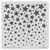 Cascading Stars Stencil ©2019 Newton's Nook Designs