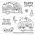 Christmas Campers Stamp Set ©2020 Newton's Nook Designs