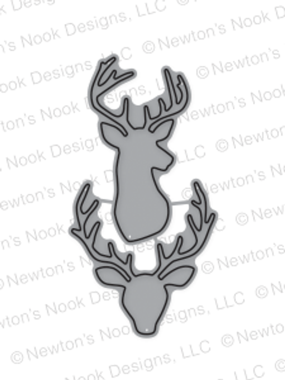 Splendid Stags Die set ©2016 Newton's Nook Designs