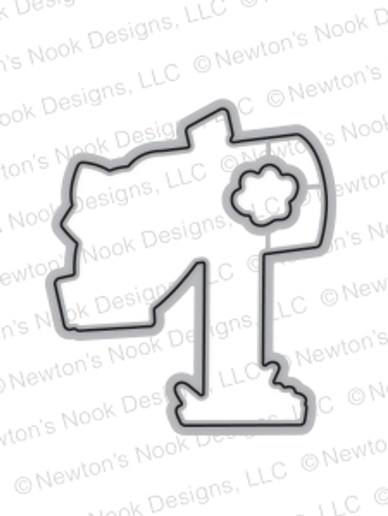 Newton's Happy Mail Die Set ©2017 Newton's Nook Designs
