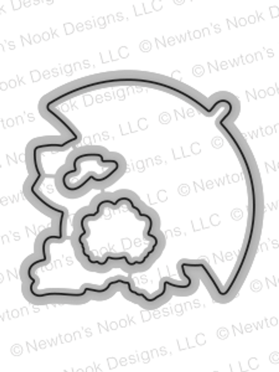 Newton's Rainy Day Die Set ©2017 Newton's Nook Designs