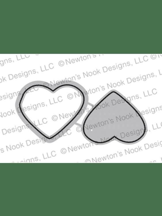 Candy Heart Die Set ©2019 Newton's Nook Designs