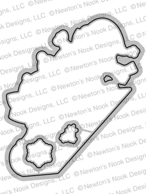 Newton's Toboggan Die Set ©2019 Newton's Nook Designs