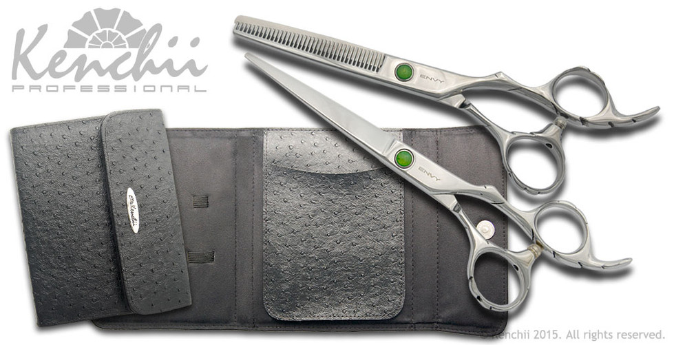 Kenchii Beauty™   Oasis Shear and Thinner Set   Right-handed