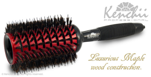 Large Vented Ceramic Brush with Nylon and Boar Bristles