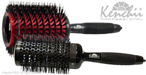 Extra Large Styling Brush kit includes extra large Rapide brush, and extra large ceramic brush.