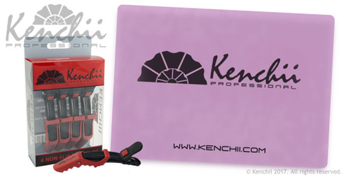 Kenchii Power  Clips and color-changing heat mat.