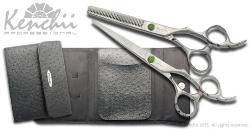 Kenchii Beauty™ | Oasis Shear and Thinner Set | Right-handed