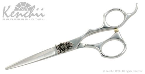 Kenchii Karma® 5.5-inch offset handle scissor. Scissors for hair cutting