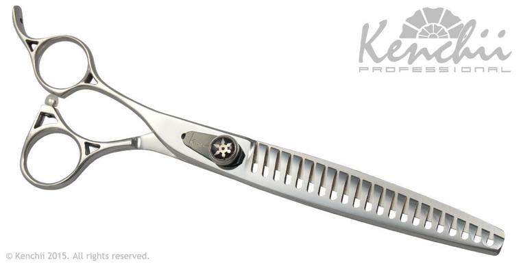 """Shinobi 21-tooth 7.5"""" Lefty Blender shears"""