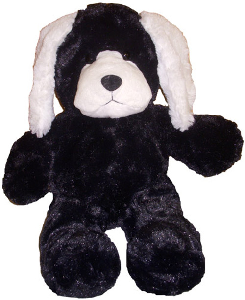 Wholesale Unstuffed Black Puppy Dog
