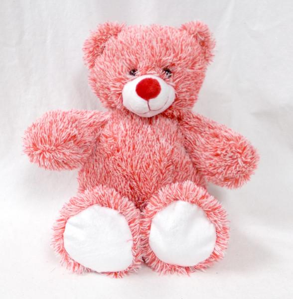 Wholesale Unstuffed Red White Bear - Holiday Bear - Valentine Teddy Bear