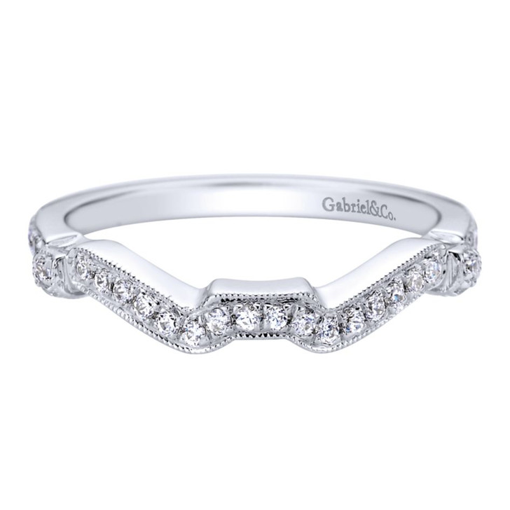 Gabriel & Co. Wedding Band MPN-WB9454W44JJ