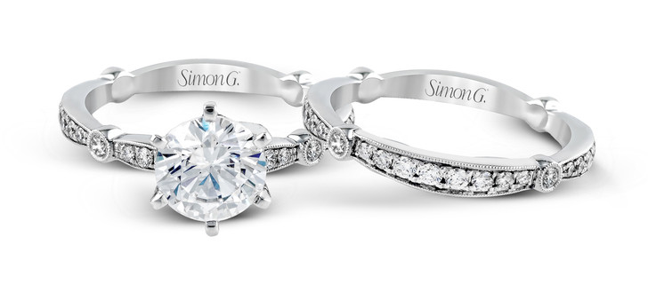 Simon G Engagement Ring MPN-MR1546 SET