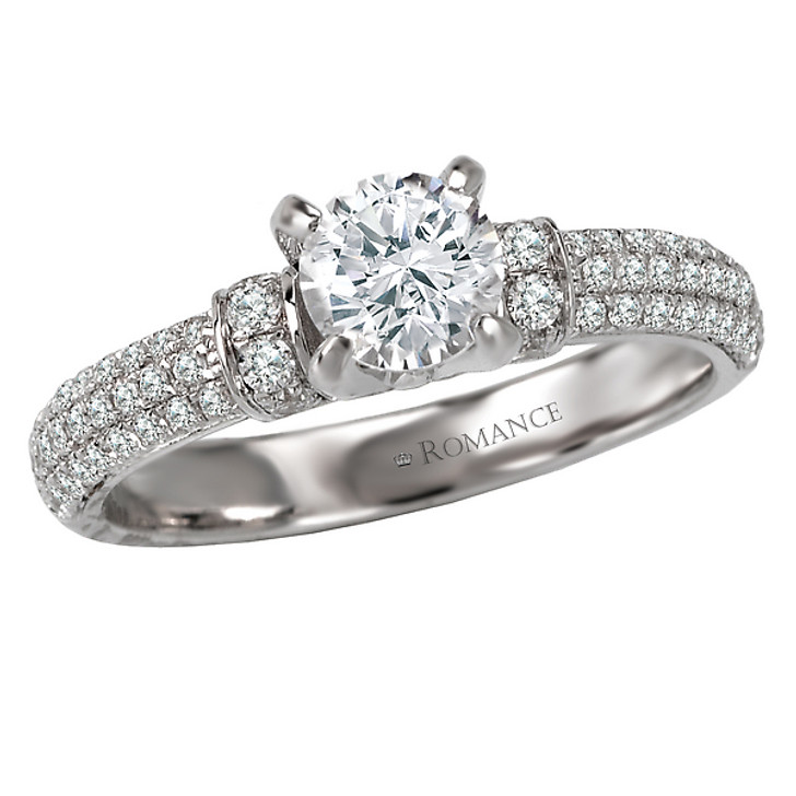Romance Complete Engagement Ring MPN-118007-075S