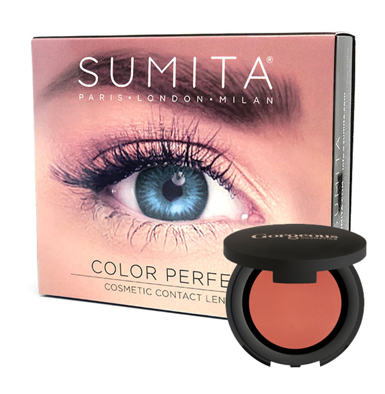c9528a94db68 COLOUR PERFECT COSMETIC CONTACT LENSES + FREE BLUSH