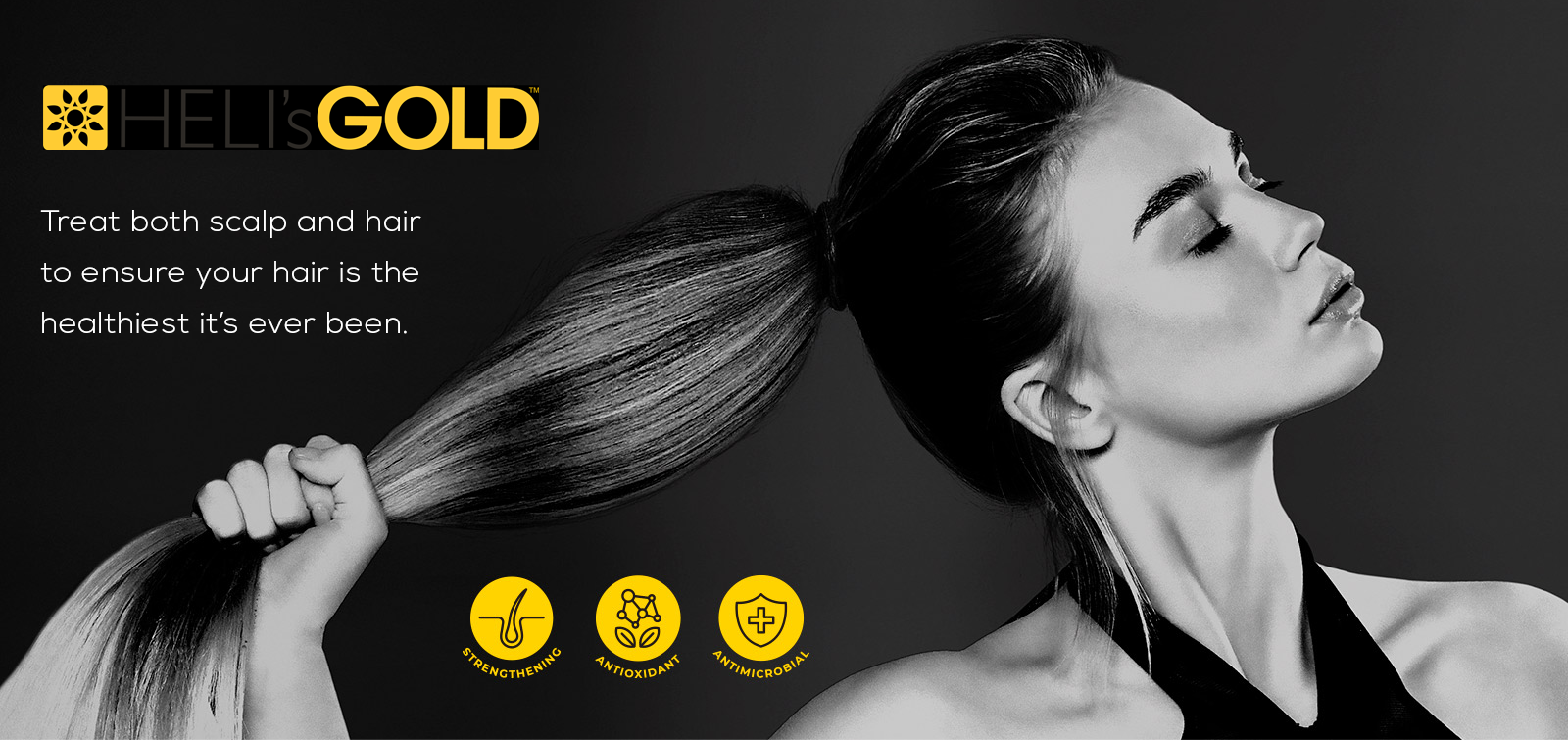 Helis Gold Scalp and Hair treatment