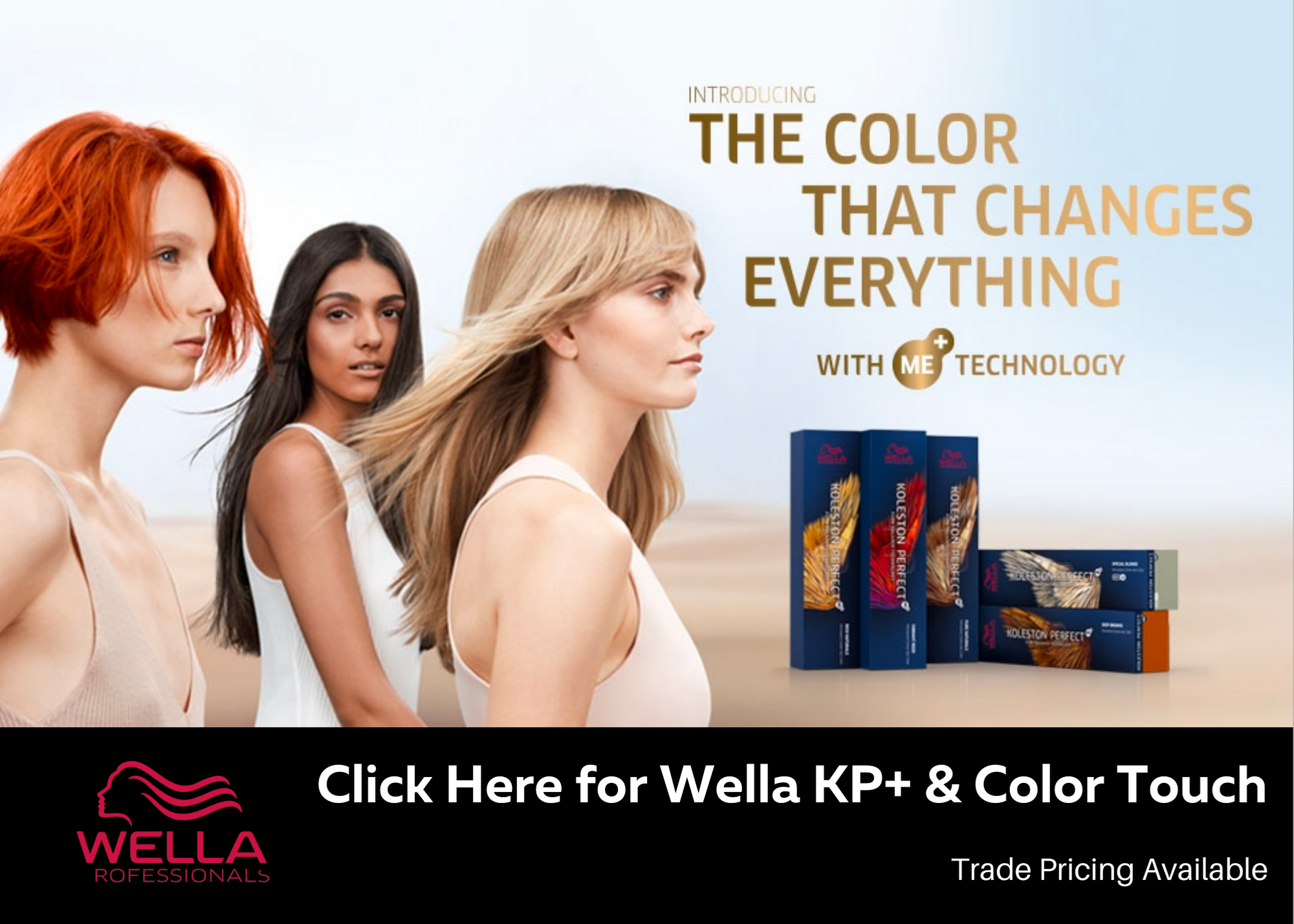 Full range of Wella Professional Hair Care, Colour, Bleach , Developers and Hair Care Retail range