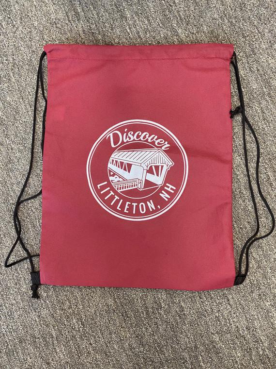 Discover Littleton Drawstring Bag
