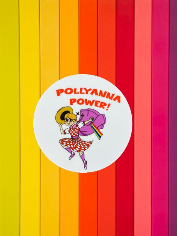 Pollyanna Power Sticker