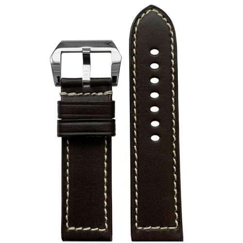 22mm (XL) RIOS1931 Mocha Firenze | Russian Leather Watch Band for Panerai