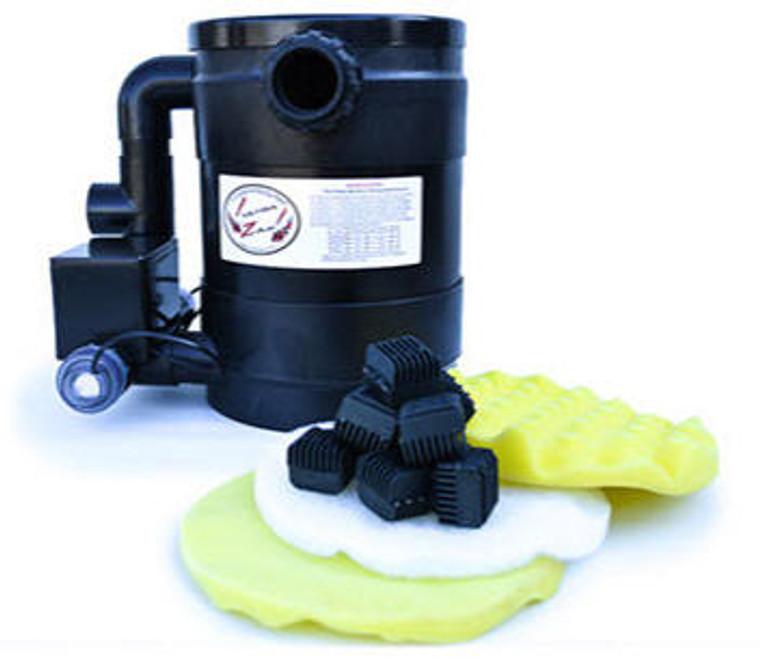Combo 8Watt UV & 15l Gravity Filter ( for 1200l Pond/Tank, 15l/min)
