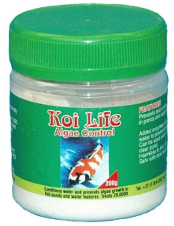 Koi Life Algae Control - 200g for 20 000l pond