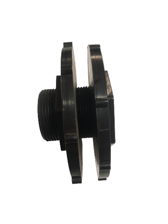 50mm 2-Flange Tank Connector