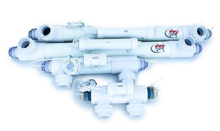 Ultazap PROfessional range of UV sterilizers: 8 watt, 15 watt, 30 watt and 55 watt