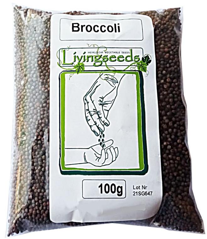 Broccoli Microgreens Seeds  - 100 Grams
