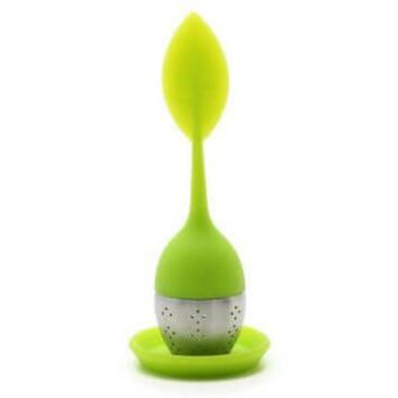 silicone leaf tea infuser
