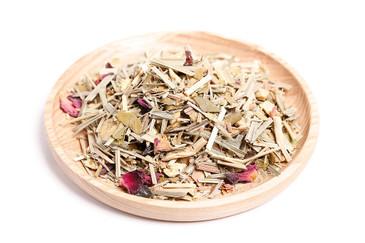 Organic, loose leaf lemongrass and ginger tea