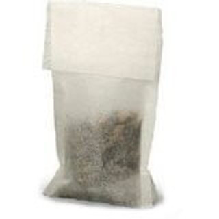 Loose Leaf Tea Filters Bags Natural Medium Size with Top Flap