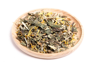 Organic loose leaf detox herbal tea