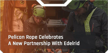 Pelican Rope Celebrates A New Partnership With Edelrid