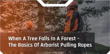 When A Tree Falls In A Forest - The Basics Of Arborist Pulling Ropes